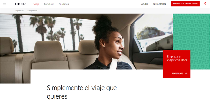 UBER marketing startup
