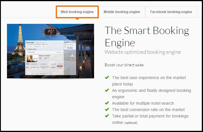 Availpro Booking Engine.