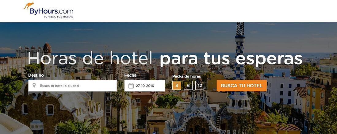 Byhours is a platform that sells hotel stays for hours.