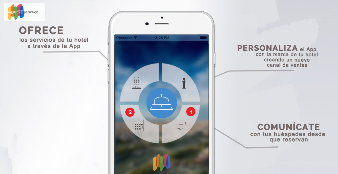 App for hotels Guestperience