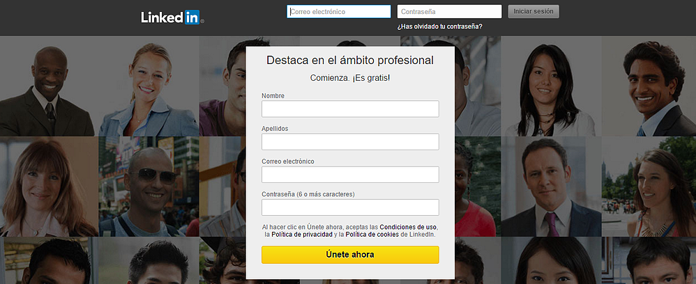 Sign up LinkedIn to get new customers