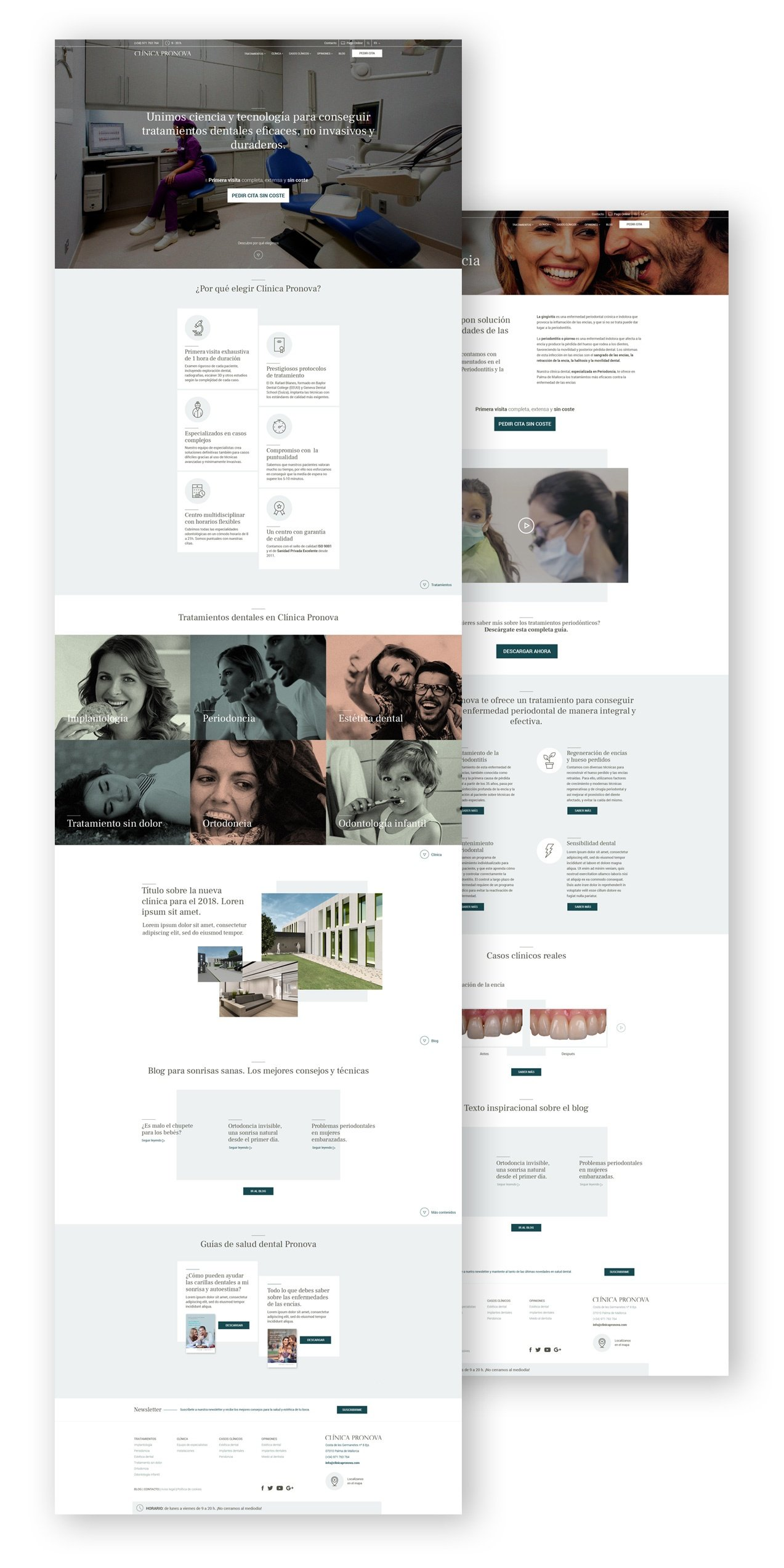 Website clinica dental