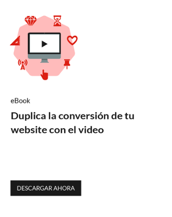 Duplica la conversión de tu website con el video